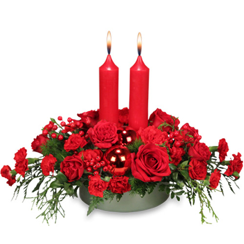 Richly Christmas Holiday Arrangement