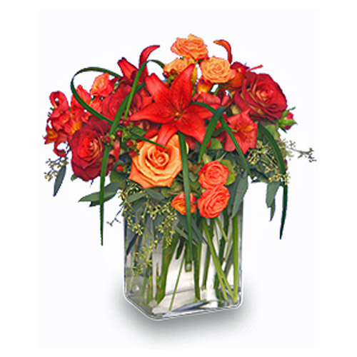 Cascading Splendor Flower Arrangement