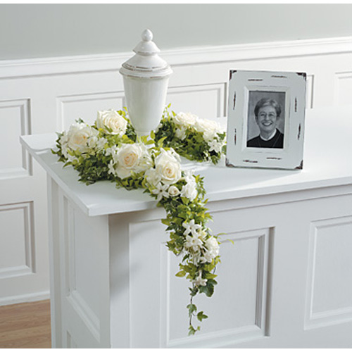 From John Henry Sympathy Flowers collection.<br/><br>