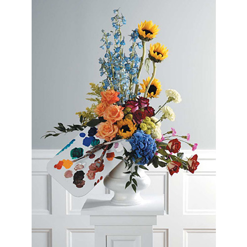 Themed Pedestal Arrangement