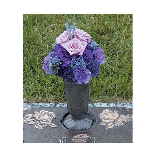 Purple Urn Arrangement