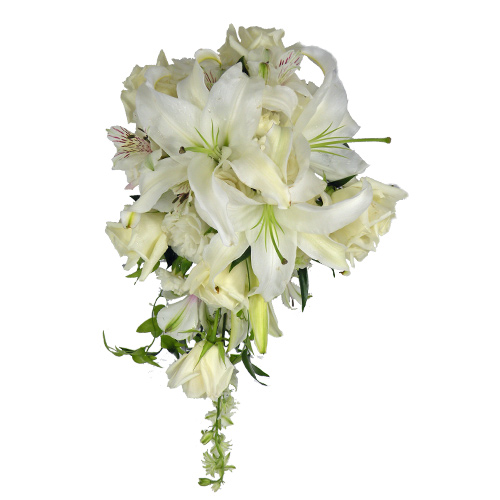 Cascading Purity Bouquet
